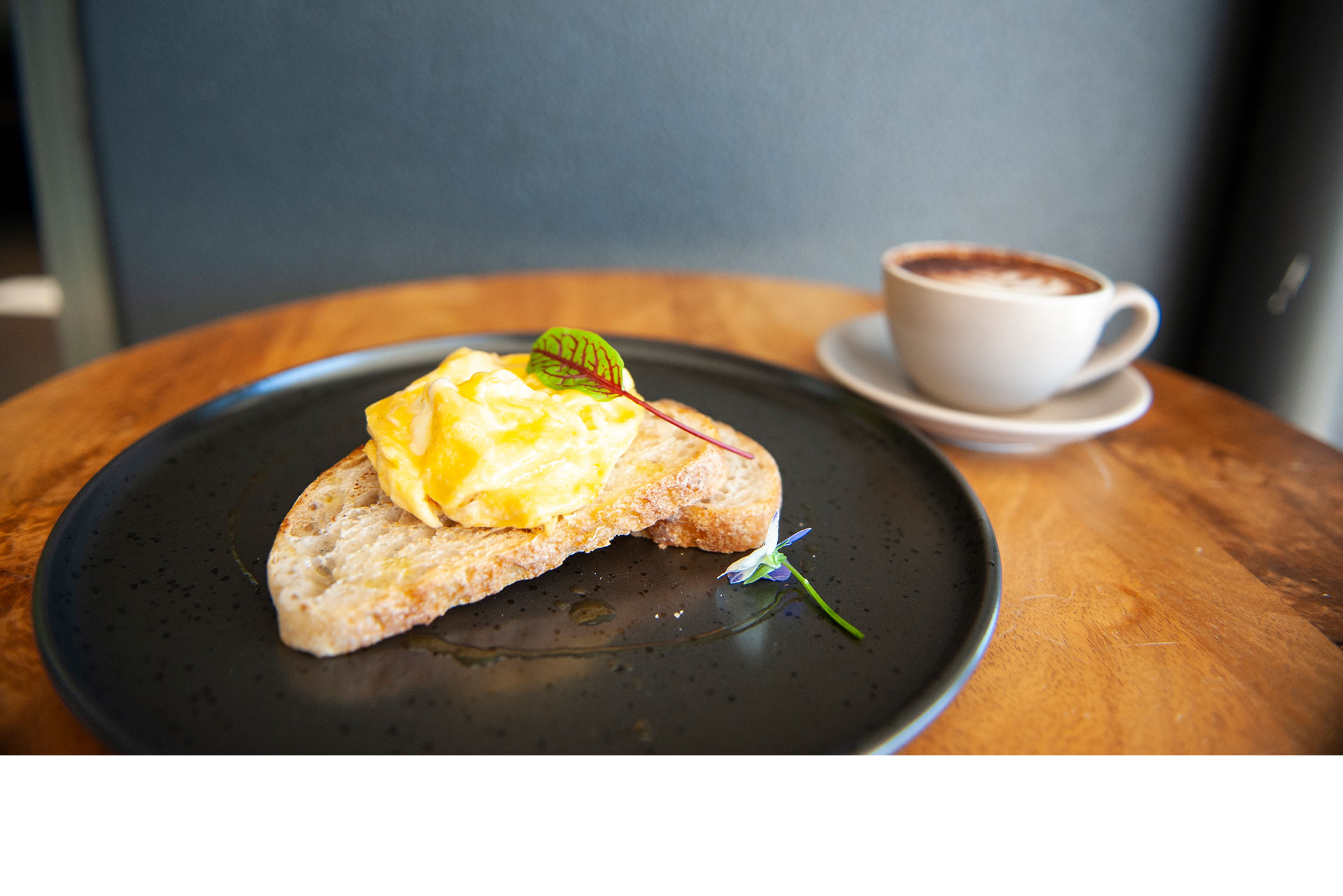 Eggs&Toast + Coffee